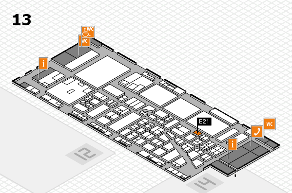 boot 2017 hall map (Hall 13): stand E21