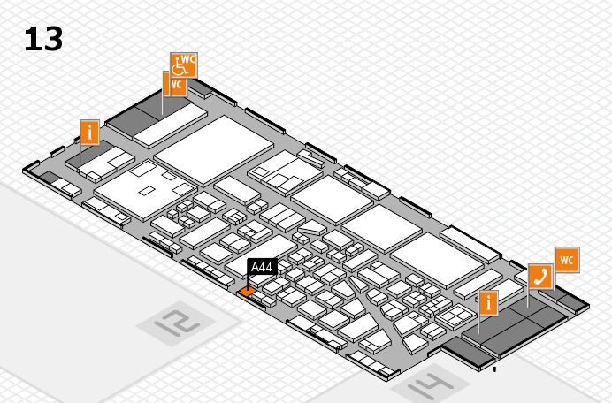 boot 2017 hall map (Hall 13): stand A44
