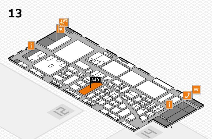 boot 2017 Hallenplan (Halle 13): Stand A49