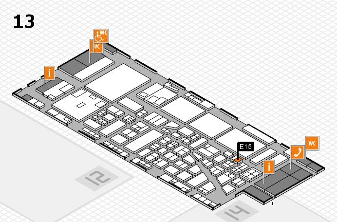boot 2017 hall map (Hall 13): stand E15