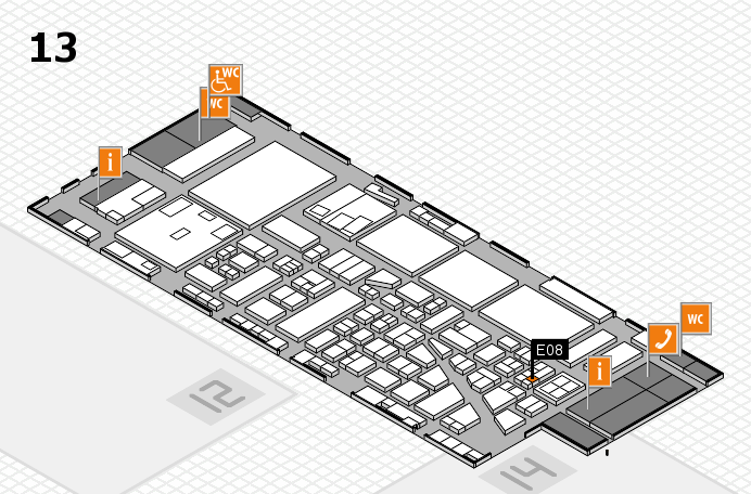 boot 2017 hall map (Hall 13): stand E08