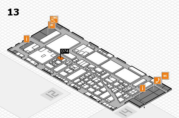 boot 2017 hall map (Hall 13): stand D74
