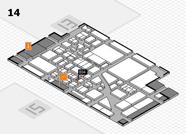 boot 2017 hall map (Hall 14): stand B34
