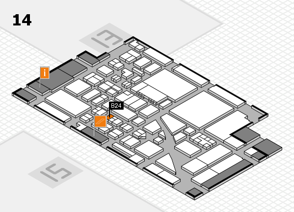 boot 2017 hall map (Hall 14): stand B24
