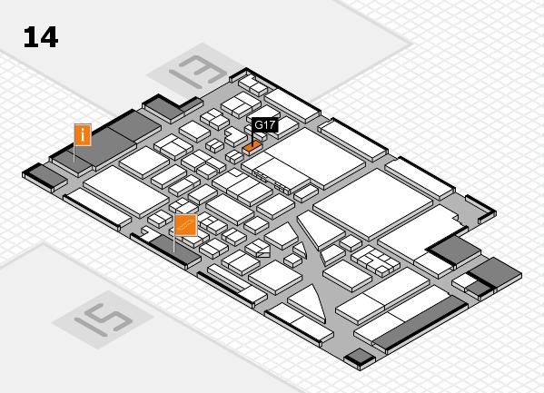 boot 2017 hall map (Hall 14): stand G17