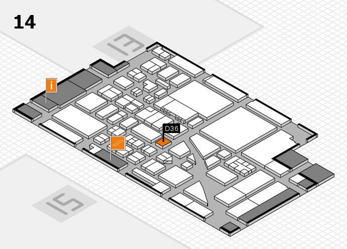 boot 2017 Hallenplan (Halle 14): Stand D36