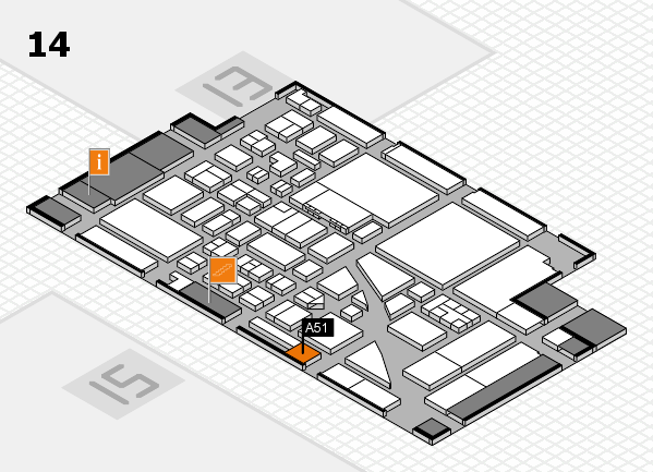 boot 2017 hall map (Hall 14): stand A51