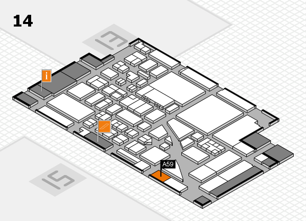 boot 2017 hall map (Hall 14): stand A59