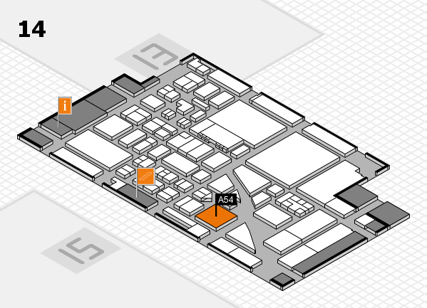 boot 2017 hall map (Hall 14): stand A54