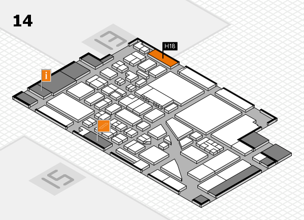 boot 2017 hall map (Hall 14): stand H18