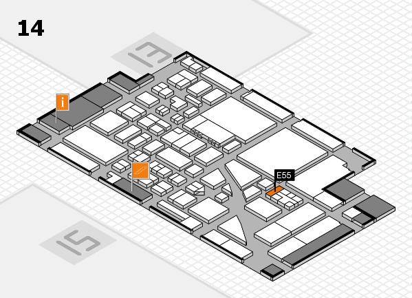 boot 2017 hall map (Hall 14): stand E55