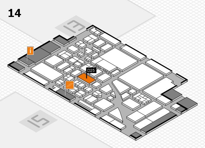 boot 2017 Hallenplan (Halle 14): Stand D25