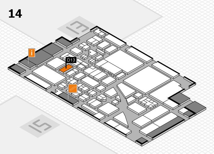 boot 2017 hall map (Hall 14): stand D13