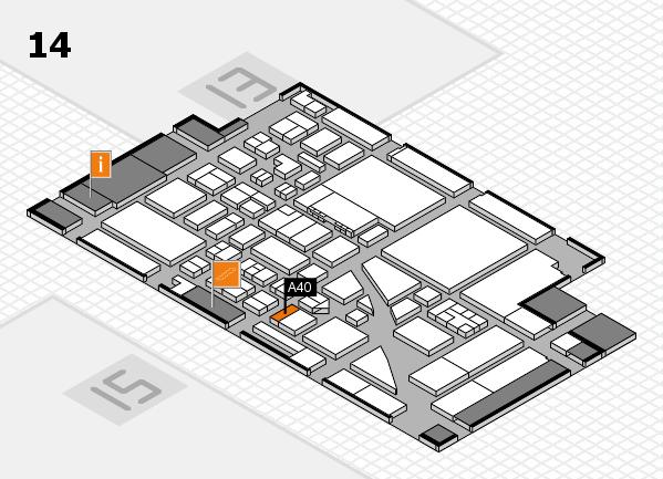 boot 2017 hall map (Hall 14): stand A40