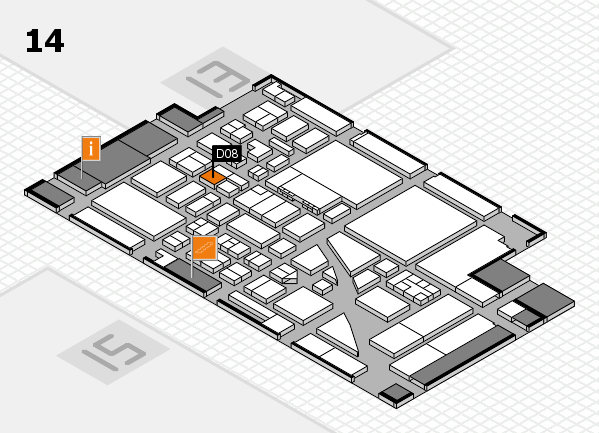 boot 2017 hall map (Hall 14): stand D08