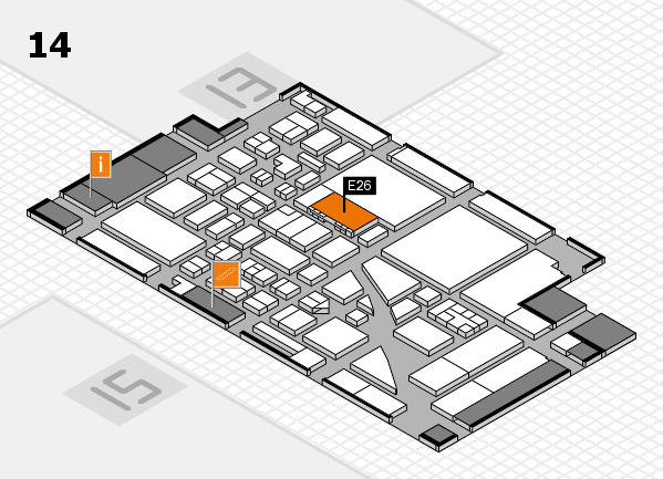 boot 2017 hall map (Hall 14): stand E26
