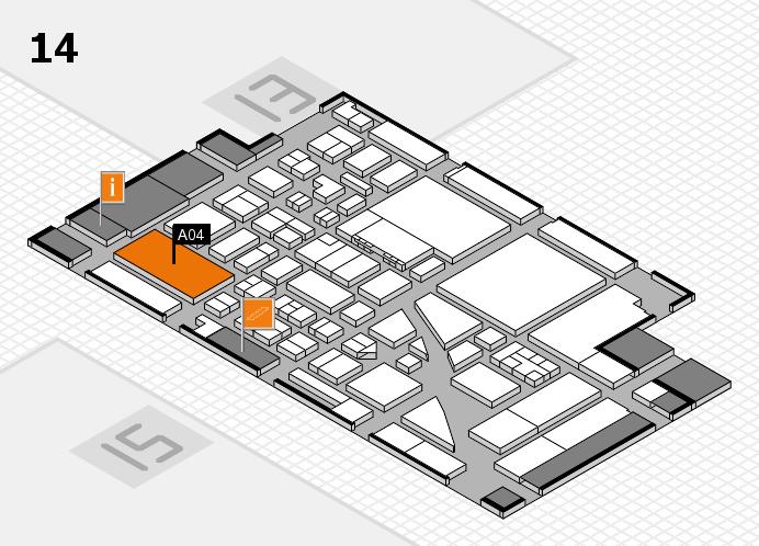 boot 2017 Hallenplan (Halle 14): Stand A04