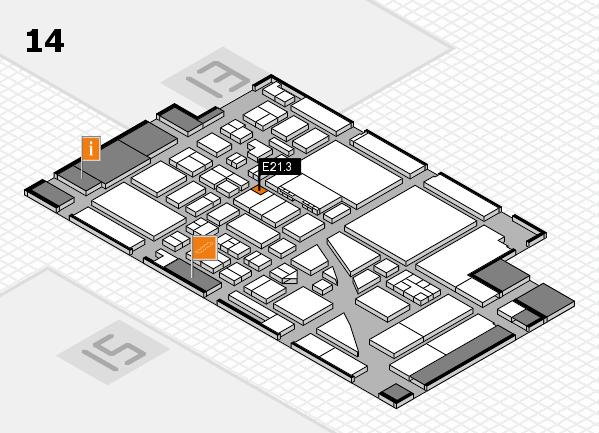 boot 2017 hall map (Hall 14): stand E21.3
