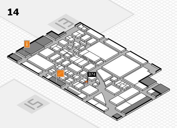 boot 2017 hall map (Hall 14): stand B74