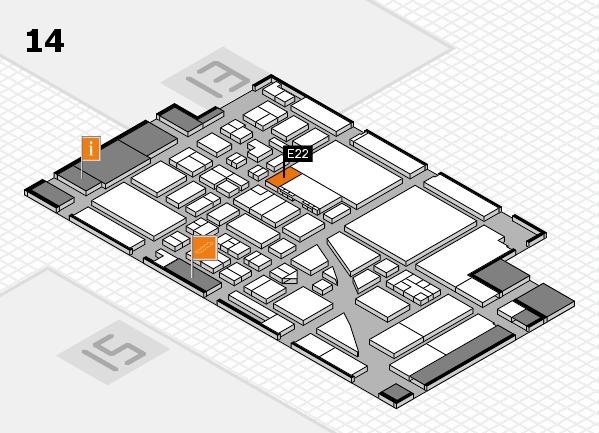 boot 2017 hall map (Hall 14): stand E22