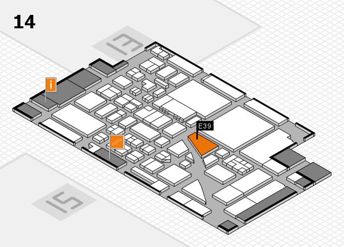 boot 2017 Hallenplan (Halle 14): Stand E39