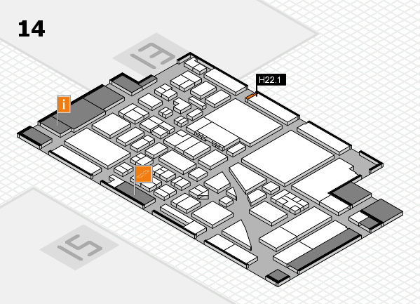 boot 2017 hall map (Hall 14): stand H22.1