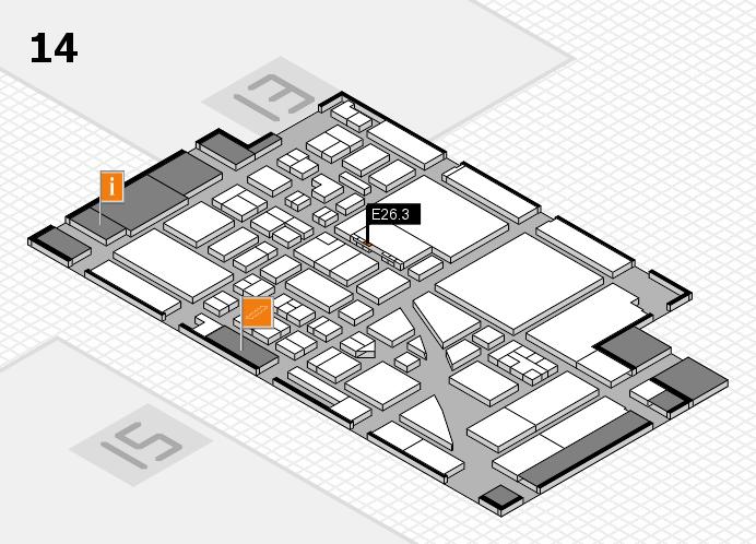 boot 2017 Hallenplan (Halle 14): Stand E26.3
