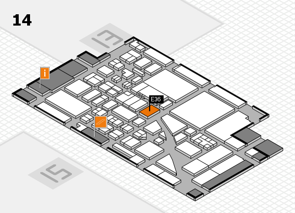 boot 2017 hall map (Hall 14): stand E36