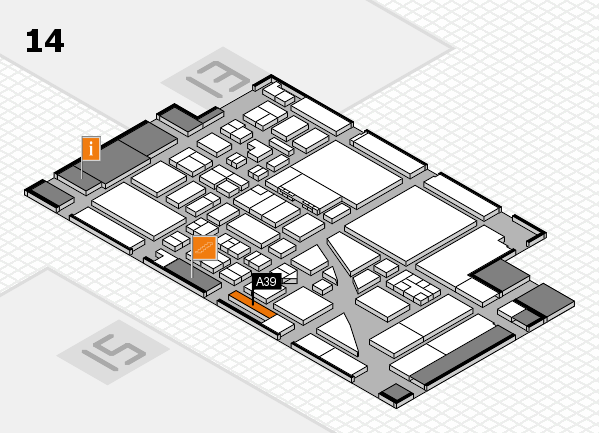 boot 2017 hall map (Hall 14): stand A39