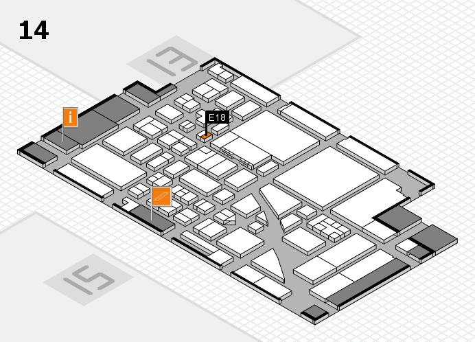 boot 2017 Hallenplan (Halle 14): Stand E18