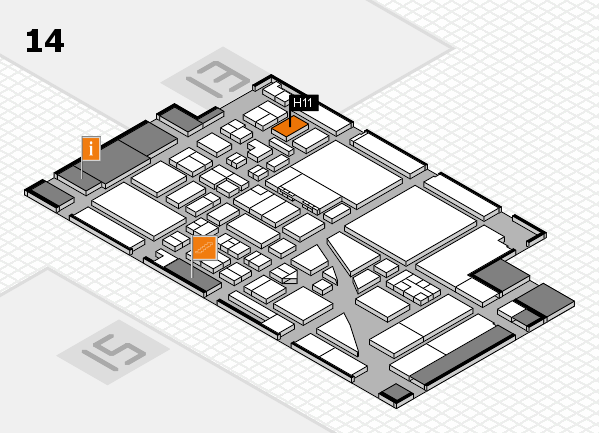 boot 2017 hall map (Hall 14): stand H11