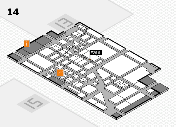 boot 2017 hall map (Hall 14): stand E26.6