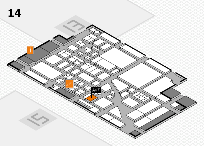 boot 2017 hall map (Hall 14): stand A47