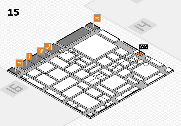 boot 2017 hall map (Hall 15): stand G38