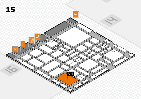 boot 2017 hall map (Hall 15): stand A44