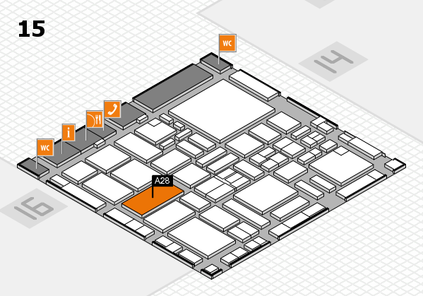 boot 2017 hall map (Hall 15): stand A28