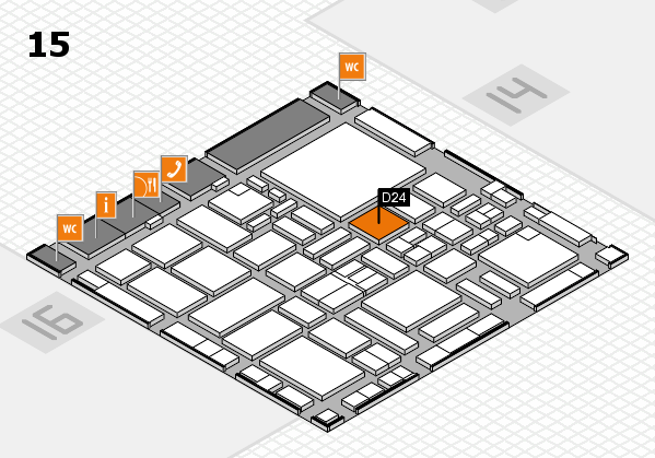 boot 2017 hall map (Hall 15): stand D24