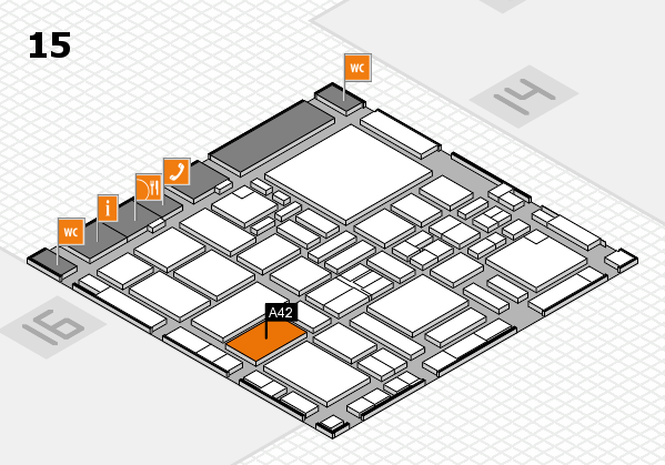 boot 2017 hall map (Hall 15): stand A42