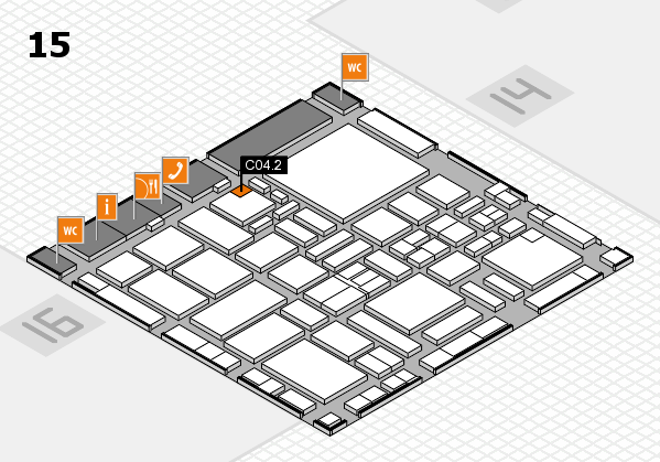 boot 2017 hall map (Hall 15): stand C04.2