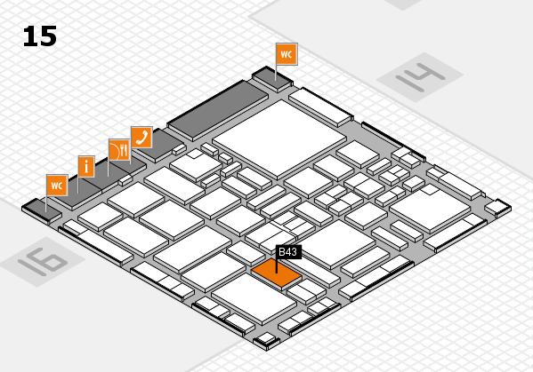 boot 2017 hall map (Hall 15): stand B43
