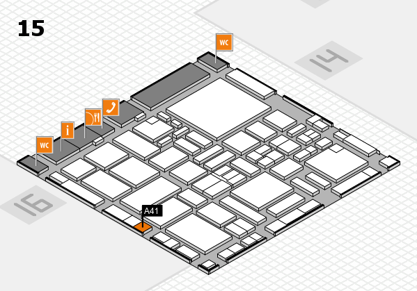 boot 2017 hall map (Hall 15): stand A41