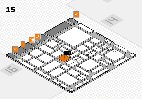 boot 2017 hall map (Hall 15): stand B24