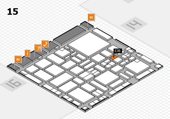 boot 2017 hall map (Hall 15): stand E38