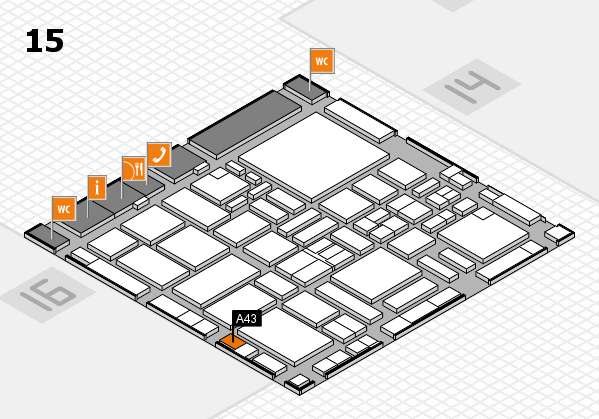 boot 2017 hall map (Hall 15): stand A43
