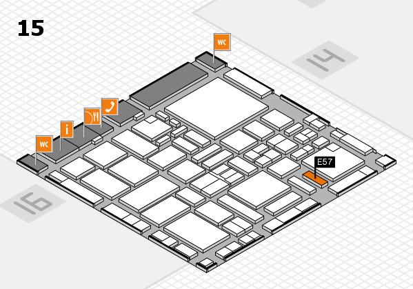 boot 2017 hall map (Hall 15): stand E57