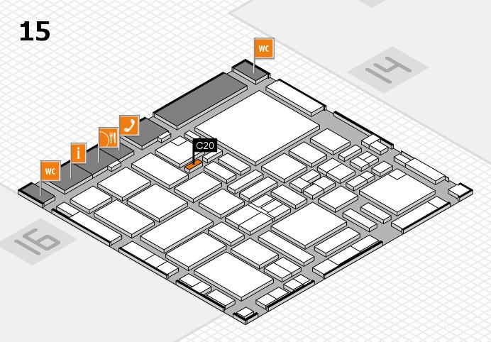 boot 2017 hall map (Hall 15): stand C20