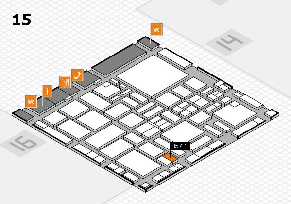 boot 2017 hall map (Hall 15): stand B57.1