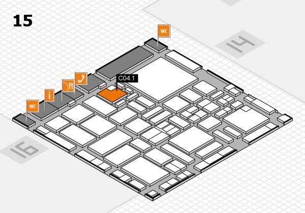 boot 2017 hall map (Hall 15): stand C04.1