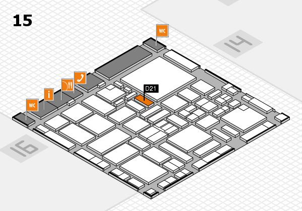 boot 2017 hall map (Hall 15): stand D21