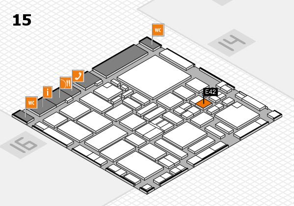 boot 2017 hall map (Hall 15): stand E42